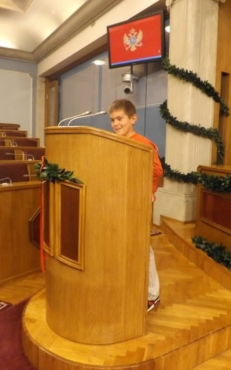 "Radionica 23 IV-2 OŠ ""Milija Nikčević"" Nikšić 6.11.2012."