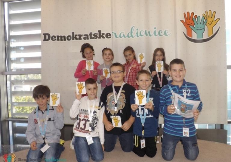 """Radionica 200 IV-4 OŠ """"Oktoih"""" Podgorica 17.10.2013."""