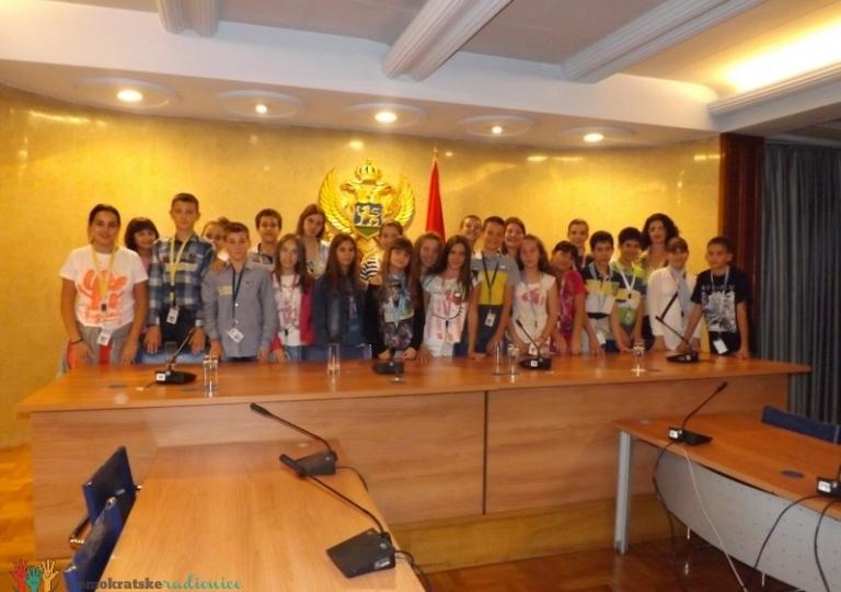 """Radionica 202 VII-2 OŠ """"Oktoih"""" Podgorica 18.10.2013."""