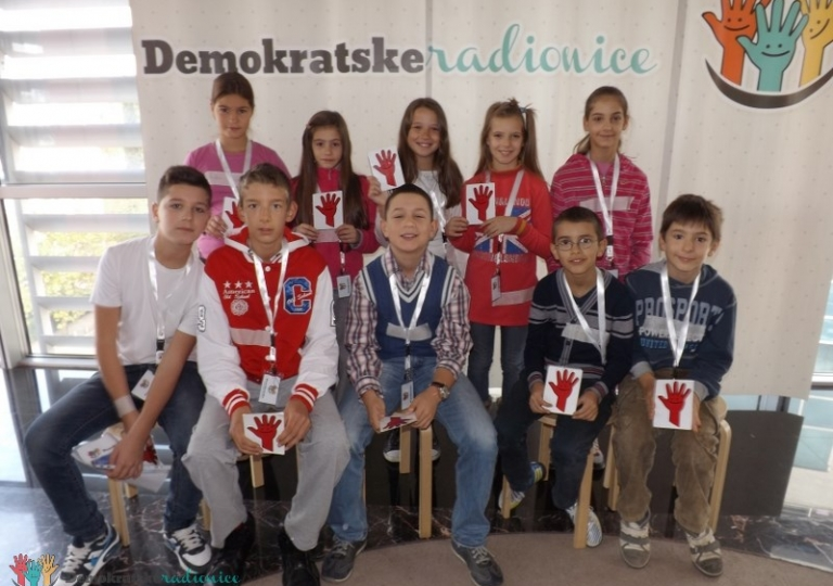 """Radionica 232 V-2 OŠ """"Oktoih"""" Podgorica 15.11.2013."""