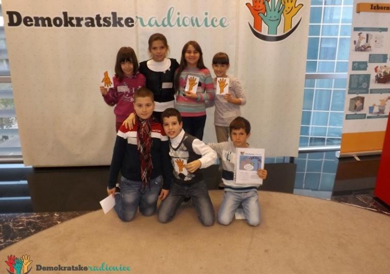 """Radionica 249 IV-3 OŠ """"Pavle Rovinski"""" Podgorica 28.11.2013."""