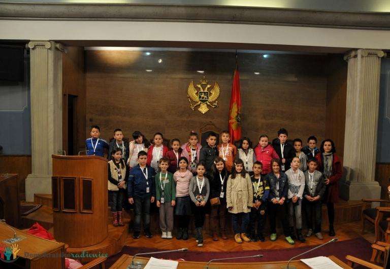 """Radionica 254 IV-5 OŠ """"Pavle Rovinski"""" Podgorica 3.12.2013."""