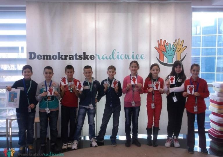 """Radionica 256 IV-6 OŠ """"Pavle Rovinski"""" Podgorica 4.12.2013"""