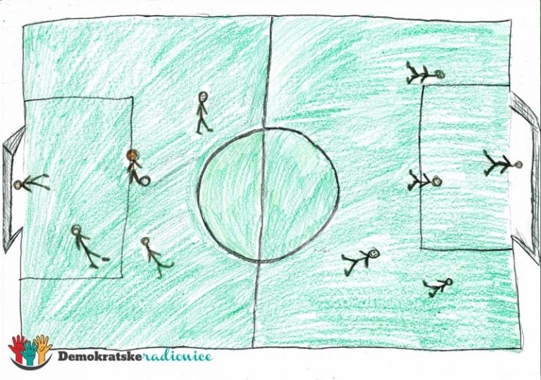 Crveni fudbal