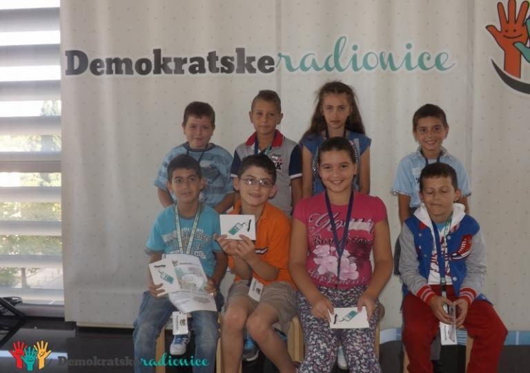 "Radionica 419 IV-a, IV-b OŠ ""Srbija"" Bar 18.09.2014."