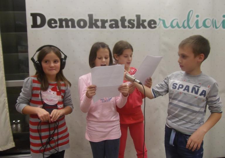 """Radionica 499 IV-2 OŠ """"Milan Vukotić"""" Podgorica 2.12.2014."""
