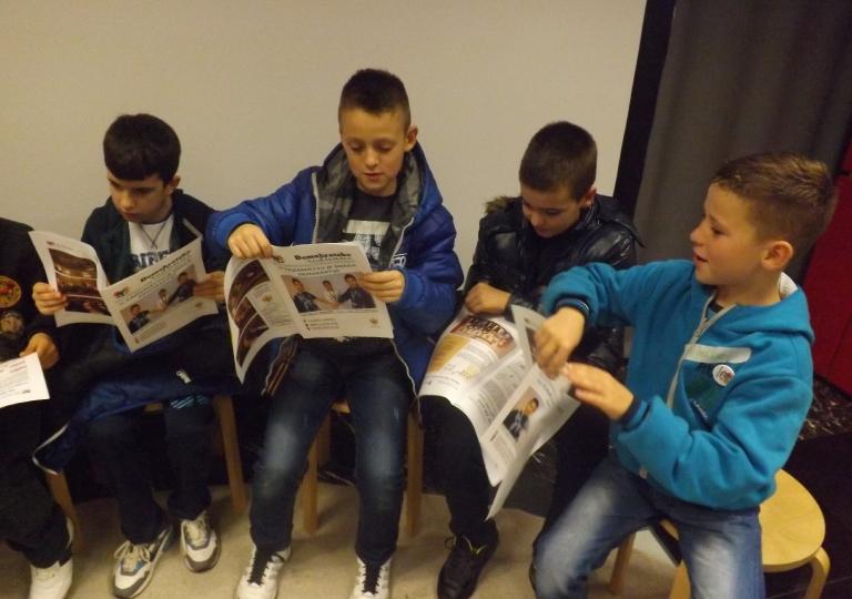 "Radionica 505 V-1 OŠ ""Milan Vukotić"" Podgorica 5.12.2014."