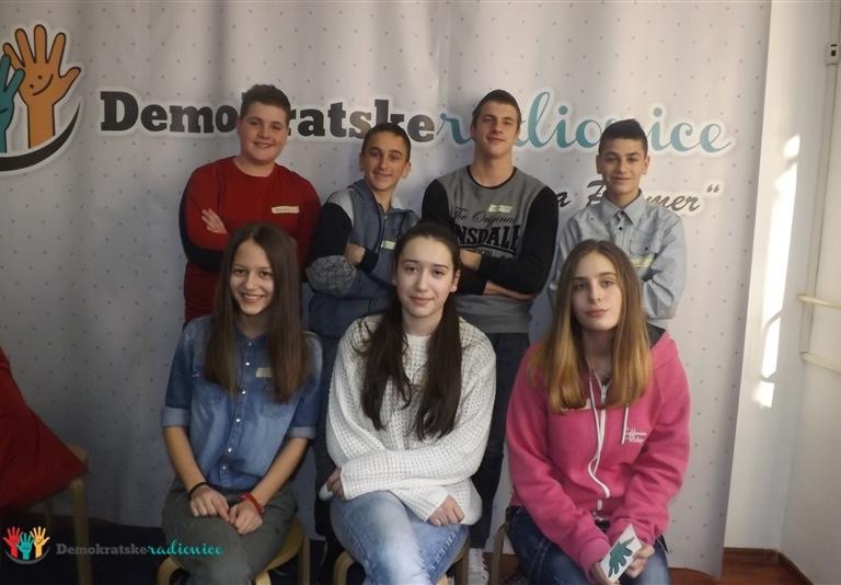 "Radionica 724 IX-4 OŠ ""Mileva Lajović Lalatović"" Nikšić 17.12.2015."