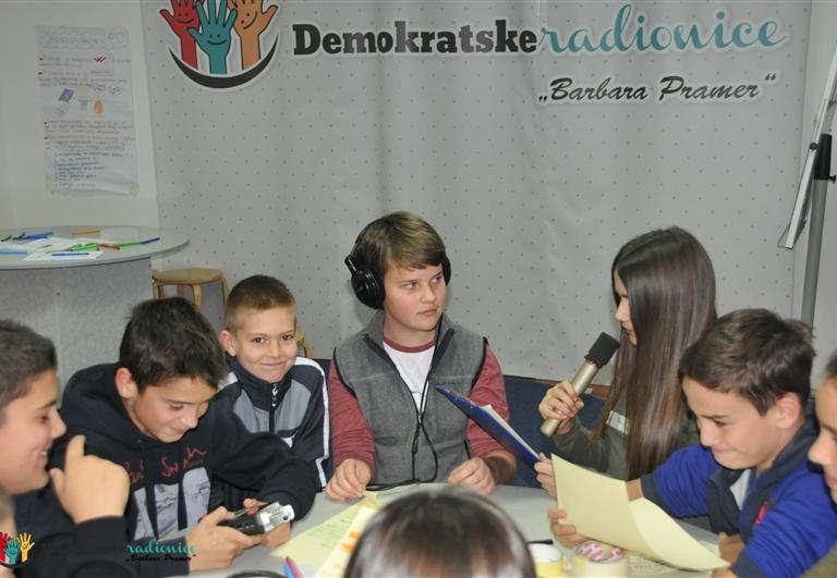 """Radionica 935 VI-1, VI-2 OŠ """"Kekec"""" Sutomore, Bar 15.12.2016."""