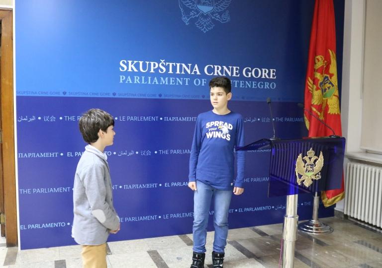 "Radionica 1350 UP OŠ ""Ratko Žarić"" Nikšić 6.11.2019."