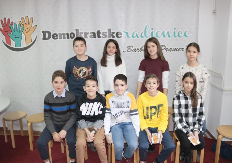 """Radionica 1376 VI-2 OŠ """"Sutjeska"""" Podgorica 16.12.2019."""